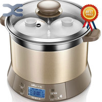 High Quality Electric Cookers 1 Pot 3 Liner Crockpots 1.8L Slow Cooker 220V Mini Casserole Cooker Electric Stoves