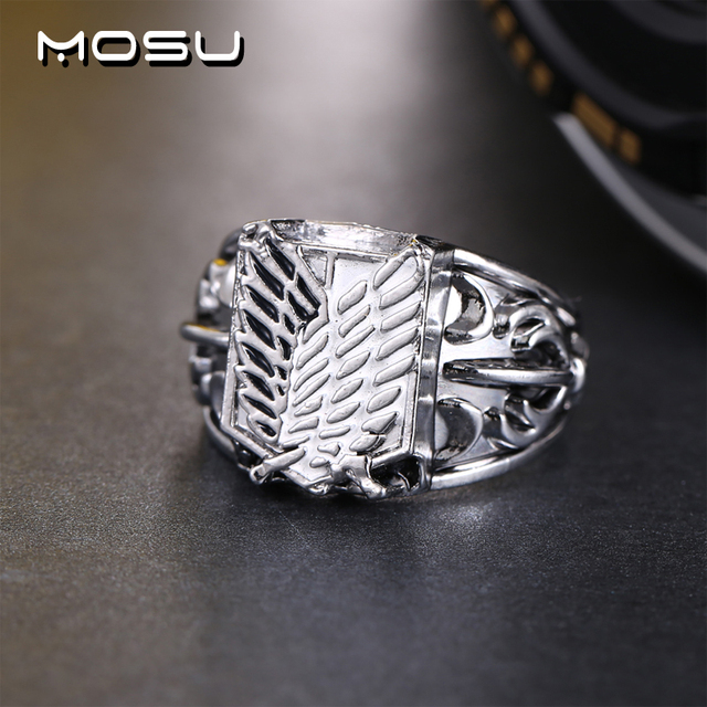 Attack on Titan Metal High Quality Jewelry Rings