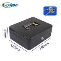 150A Portable Mini Iron Mini Safe Box Cash Box Cash Register Domestic Steel Safe