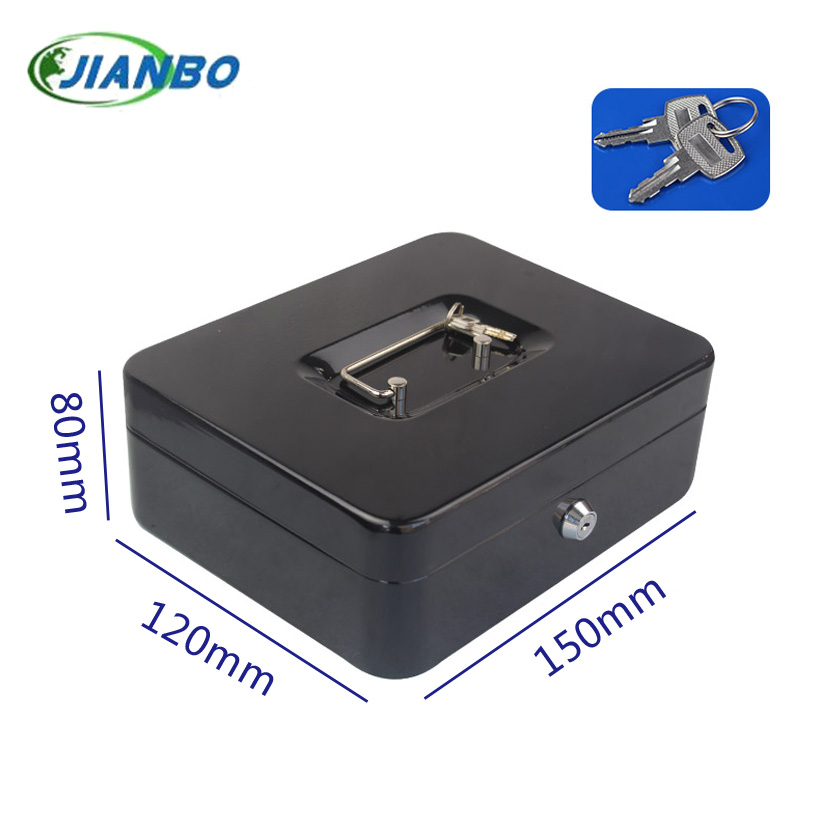 New Mini Portable Security Safe Box Money Jewelry Storage Collection Box Home School Office Compartment Tray Password Lock Box S giantree portable money box 6 compartments coin steel petty cash security locking safe box password strong metal for home school
