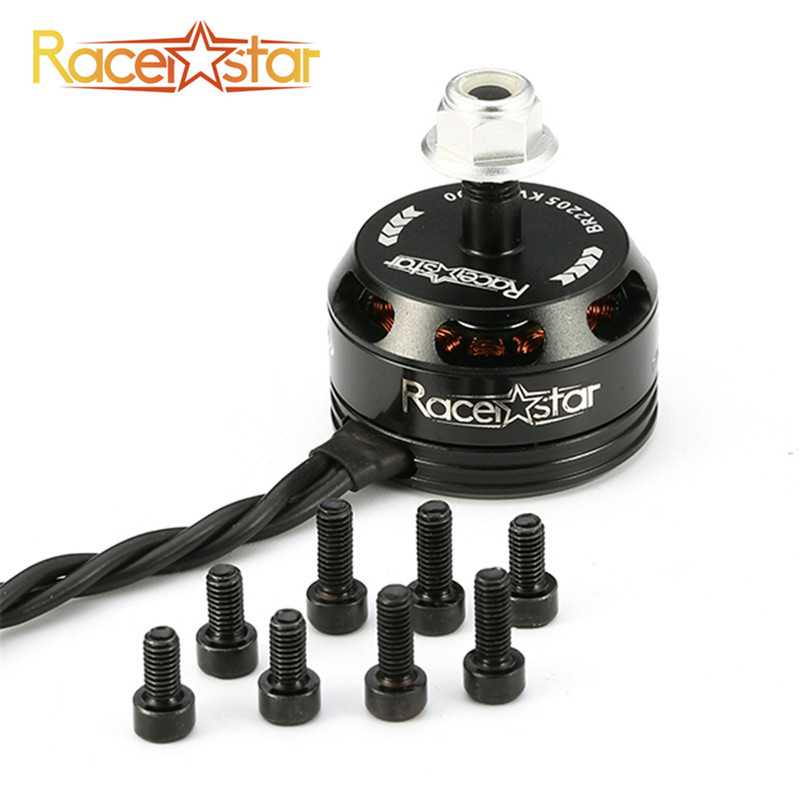 New Arrival Racerstar Racing Edition 2205 <font><b>BR2205</b></font> 2600KV 2-4S Brushless Motor CW/CCW Black For QAV250 ZMR250 260 image