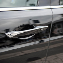 Car Styling Accessories 8PCS ABS Chromed Exterior Door Handle Decoration Strip Cover Trim For Acura TLX 2015 2016 2017 2018