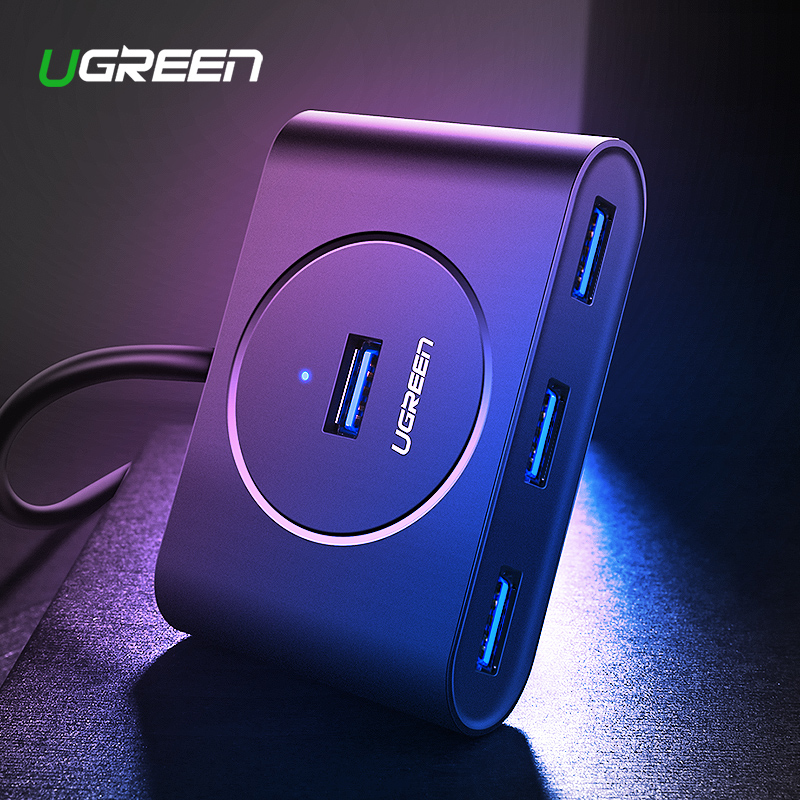 Ugreen Usb Hub 3,0 Externe 4 Port Usb Splitter Mit Micro Usb Power Port Für Imac Computer Laptop Zubehör Hub Usb 3.0 Nachfrage üBer Dem Angebot
