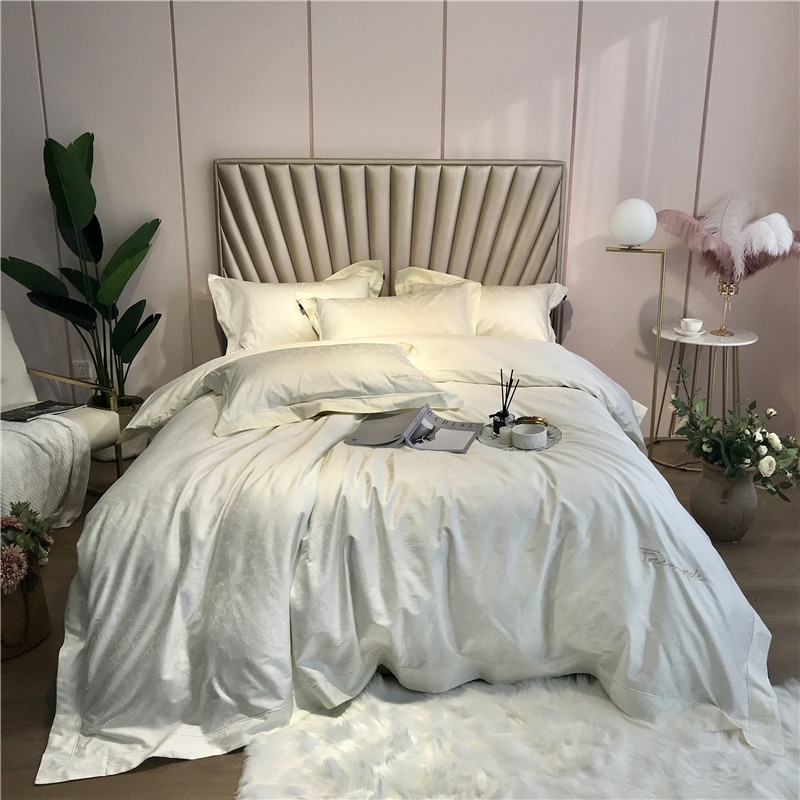 800TC Egyptian Cotton QUEEN KING Size Bedding Set Luxury Silky Soft Bedclothes Duvet Cover Bed Set Bed Sheet Set Parure De Lit