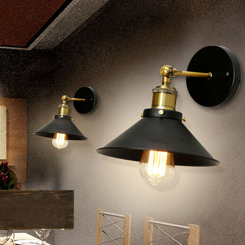Iron Vintage Sconce Wall Lights for Home 220v Led Indoor Wall Lamps for Living Room Reading Bedroom Light Wall MountedIron Vintage Sconce Wall Lights for Home 220v Led Indoor Wall Lamps for Living Room Reading Bedroom Light Wall Mounted