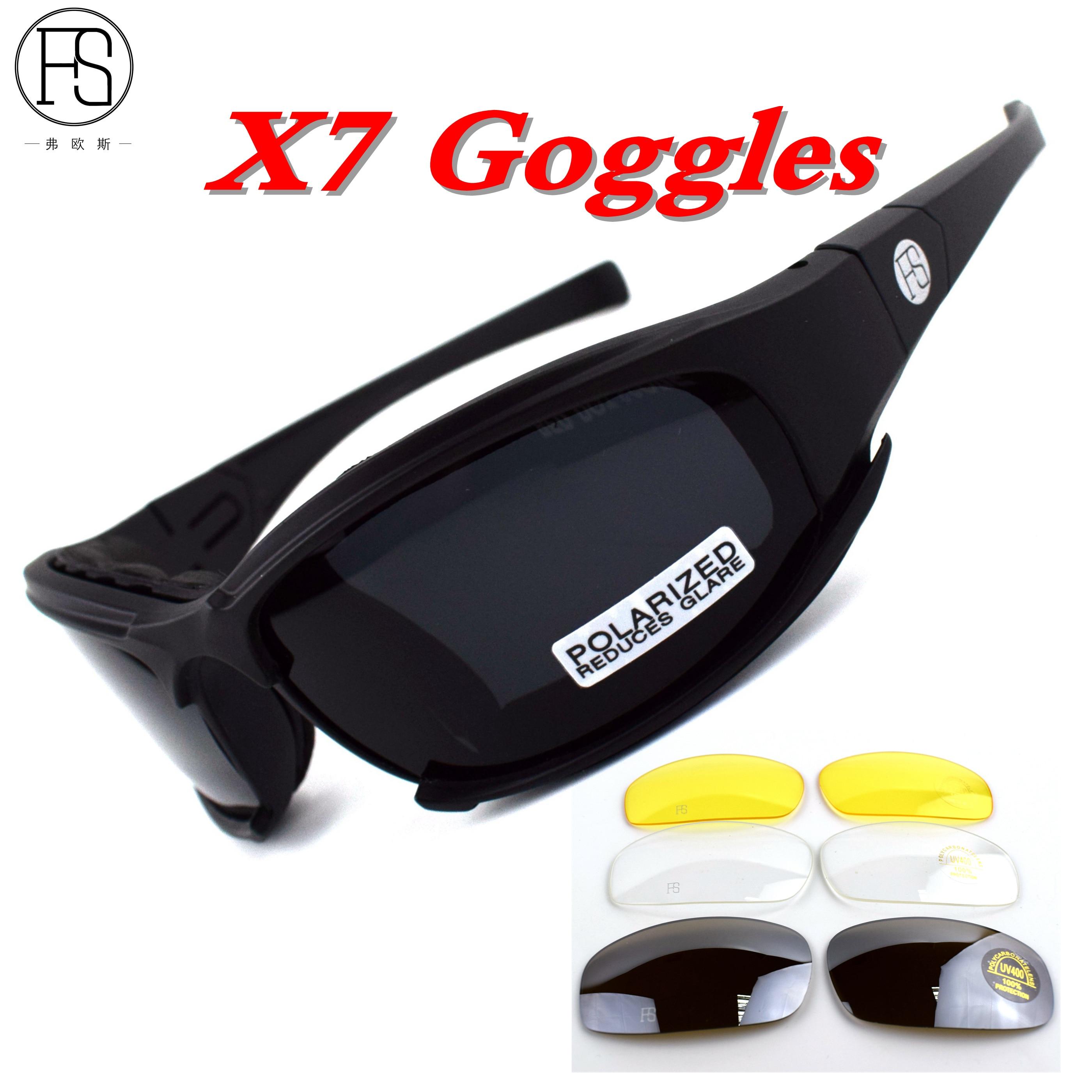 Armée arbeitsschutzbrille de lunettes lunettes de soleil de sport noir 28TMTufW