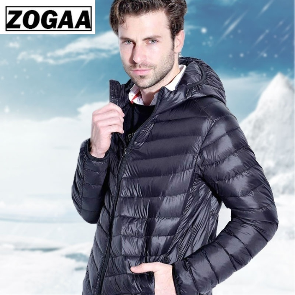 Winter Parkas Men 2019 Fashion Hooded Jacket Male Warm Mens Solid Thick Jackets and Coats Man S-3XL