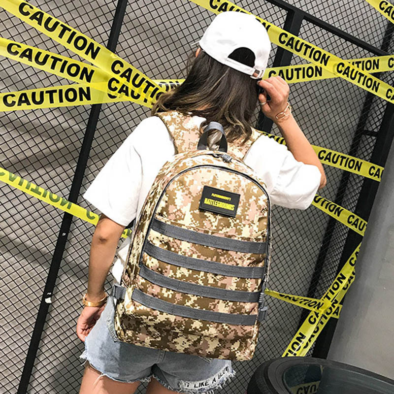 Men PUBG Backpack Multifunction Waterproof Teenage School USB Charging Backpacks Women Travel Level 3 Bag Boys Mochila BP0247 (18)