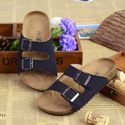 358ac97bf5 New 2015 Summer Kids Shoes Boys and Girls Sandals Brand BIRKENSTOCK ...