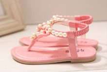 Girls Pearl Sandals