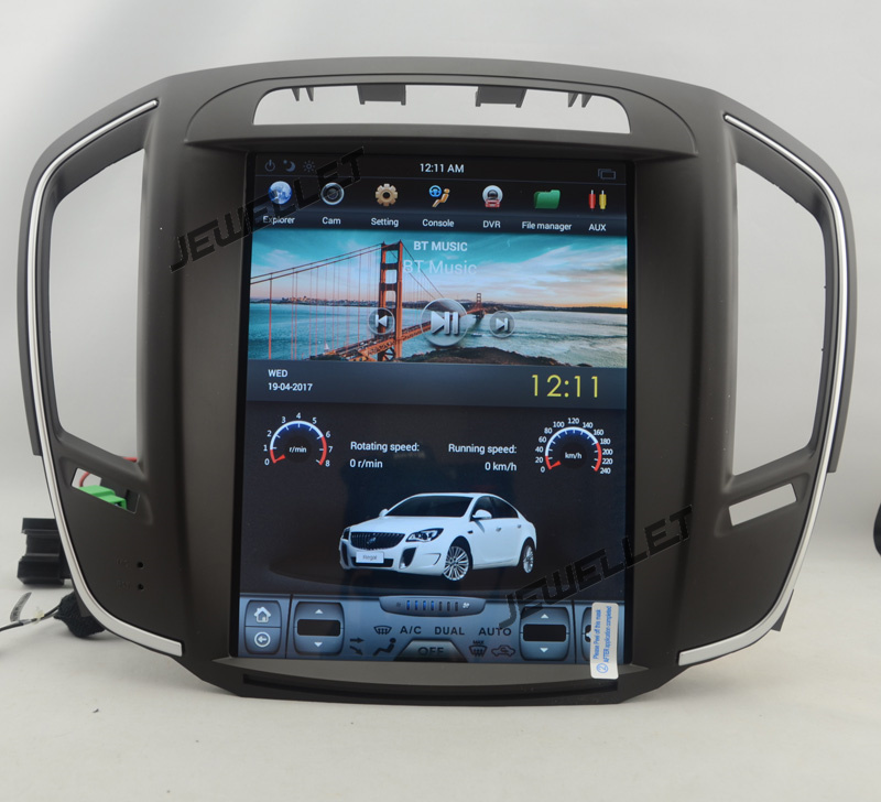"""10.4"""" Tesla Style Vertical Screen Android 6.0 Car GPS"""