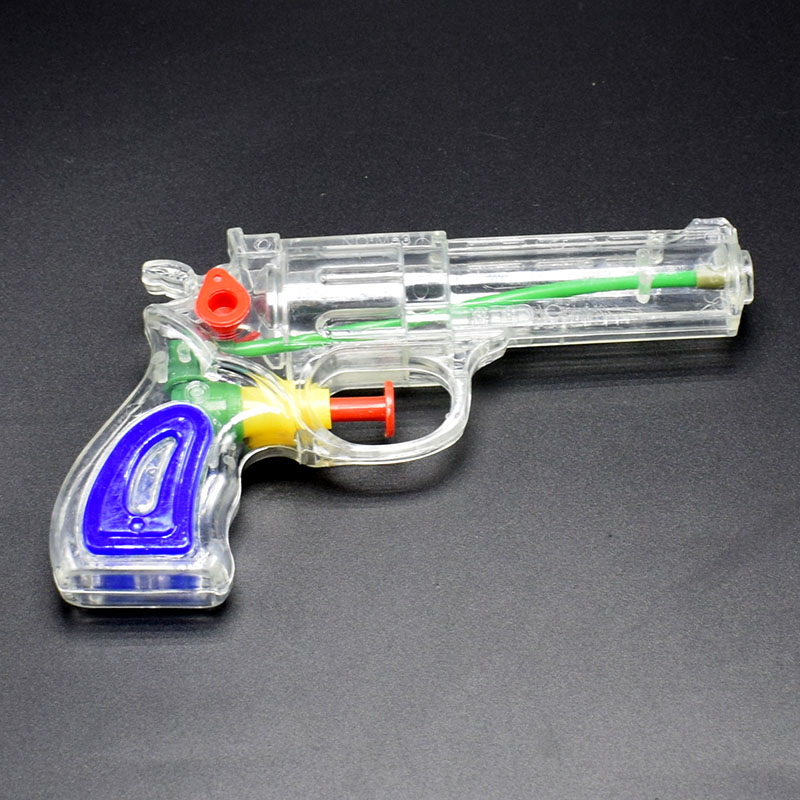 Wholesale 10pcs/lot Plastic Transparent Water Gun Toy Water Pistol Toy Squirt Pool Toy Children Summer Beach Kids Swimming Pool