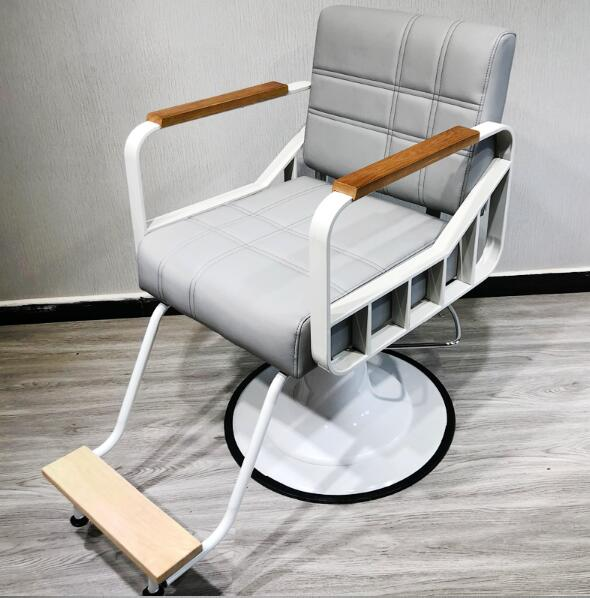 Hair salon barbershop chair hairdressing chair hairdressing chair hairdressing chair haircutting chair can rise and fall rotate Hair salon barbershop chair hairdressing chair hairdressing chair hairdressing chair haircutting chair can rise and fall rotate