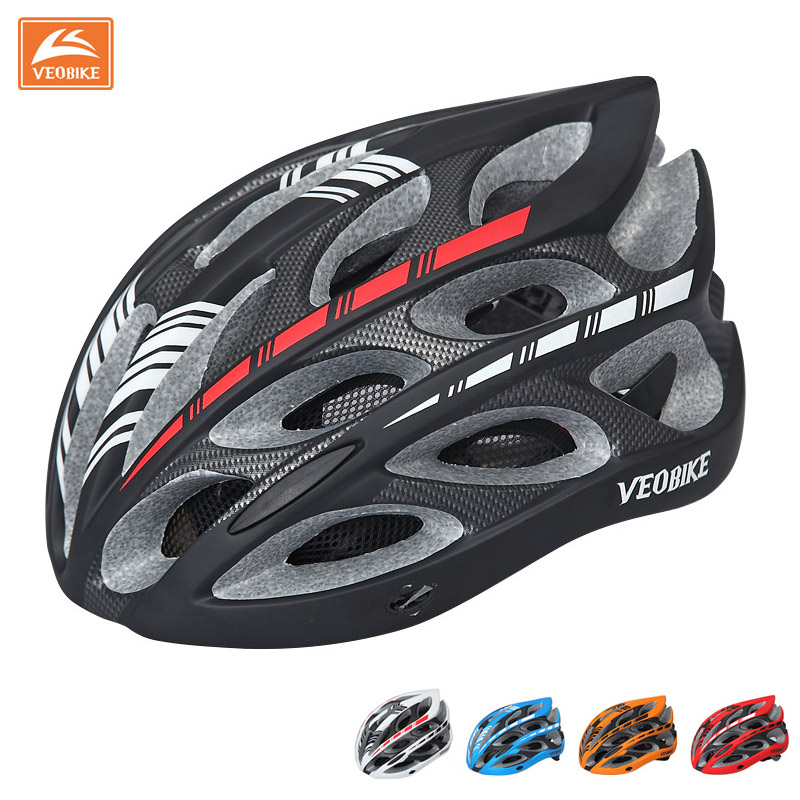 Ultralight Bicycle Helmet Cycling Helmet Integrally-molded Road Bike Equipment Helmet Capacete Casco Ciclismo 58-65 CM
