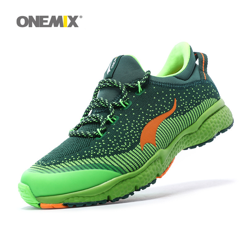 reputable site 8abe0 5b78d ONEMIX Man Running Shoes For Men Athletic Trainers Blue Run Zapatillas  Tennis Sport Shoe Outdoor Walking Sneakers Free Ship 2019-in Running Shoes  from ...