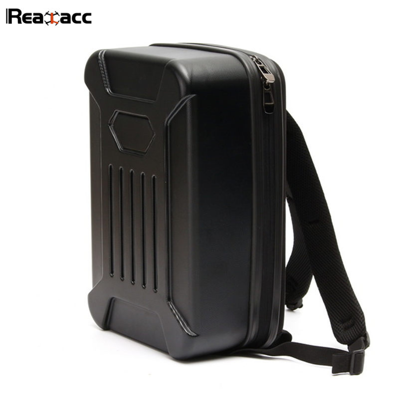 Original Realacc Backpack Hardshell Case Shoulder Bag Suitcase For WLtoys A979 A979-B RC Car Accessories Black RC Models original realacc waterproof portable storage box carrying case bag suitcase for zerotech dobby rc quadcopter black