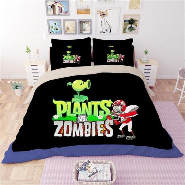 Комплект постельных принадлежностей Зомби против растений