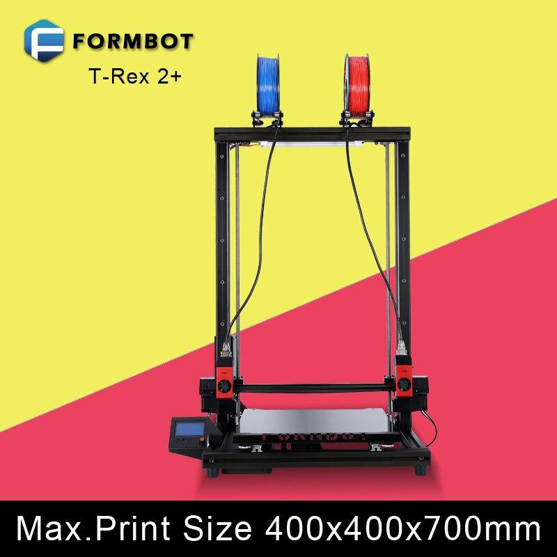 Formbot t-rex 2 + Большой принтер размер 400x400x700 мм с лазерный гравер