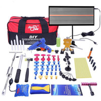 Auto Body Paintless Dent Removal Repair Tools Kits Silde Hammer Dent Lifter Glue Puller Sets with Tool Bag