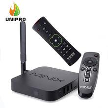 AUF LAGER! minix neo u1 android tv box amlogic s905 quad core 2g/16g 802.11ac 2,4/5 GHz WiFi H.265 HEVC 4 Karat Ultra IPTV Smart TV Box(China (Mainland))