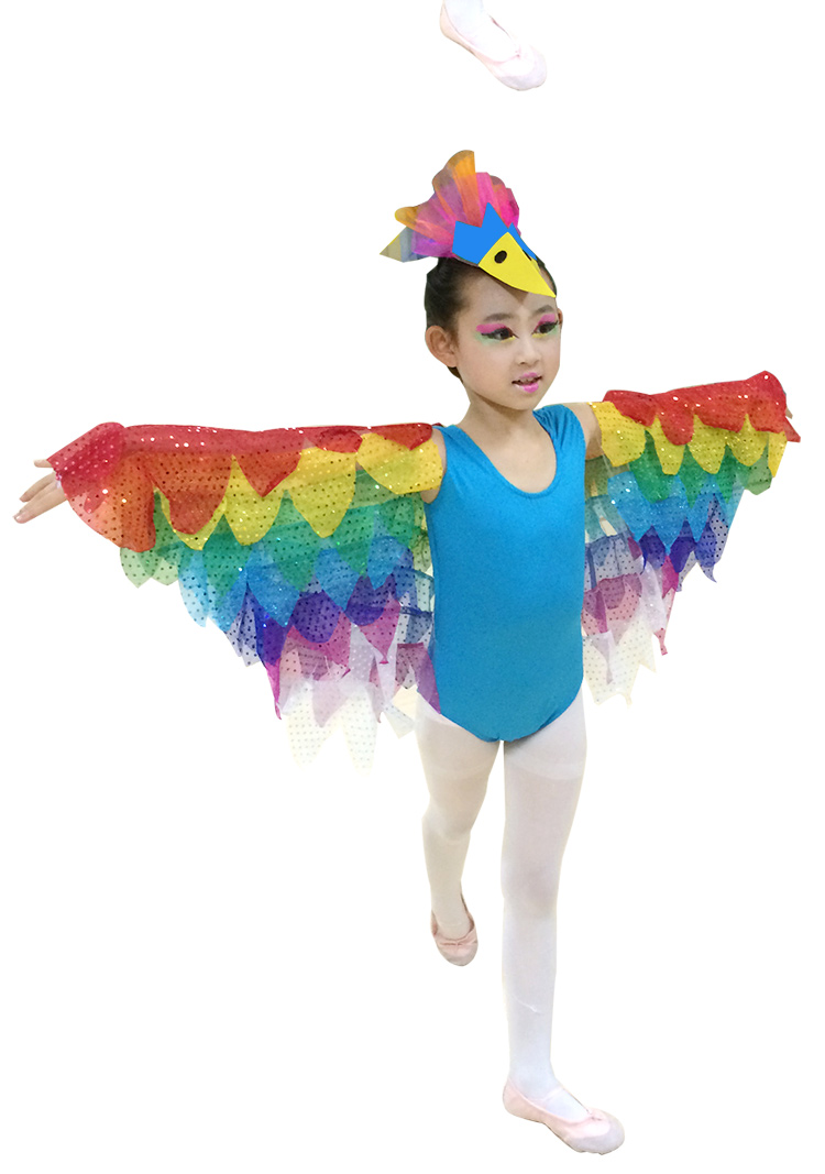 Free shipping children bird costume performance Cosplay Clothing bird Costumes Jumpsuit 90 150cm S 4XL size-in Boys Costumes from Novelty u0026 Special Use on ...  sc 1 st  AliExpress.com & Free shipping children bird costume performance Cosplay Clothing ...