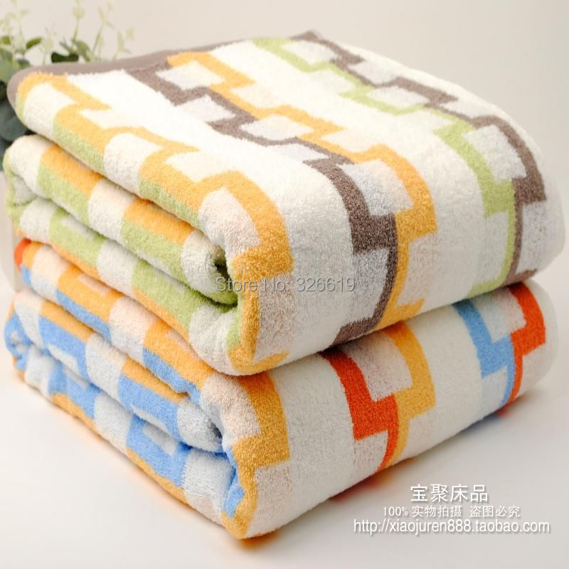 Free shipping Vosges soft summer towel 100% cotton blanket air conditioning towel blanket