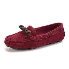 Ladies Loafers Real Leather-based Informal Footwear Slip on Ballet Flats Feminine Boat Footwear Dimension 35-40 Ladies's Footwear Moccasins XK050302