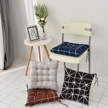 Cushion  Brand Decoration Pata Chair Pillow Simple Color Striped Wave Geometry For Modern Home 2019