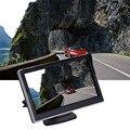 5 ''дюймовый Универсальный Цифровой Высокой четкости HD Sucker Обратный Черный Автомобиля Камера Наблюдения Дисплей 3 Вт 480RGBx272 для обзор камеры