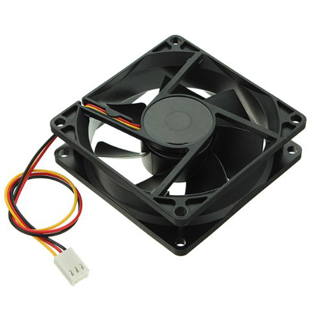 New Noiseless 80mm 3Pin 12V Desktop PC CPU Host Chassis Computer Case IDE Fan Cooling Cooler 8cm Chassis CPU Cooling Fan ABS 55g