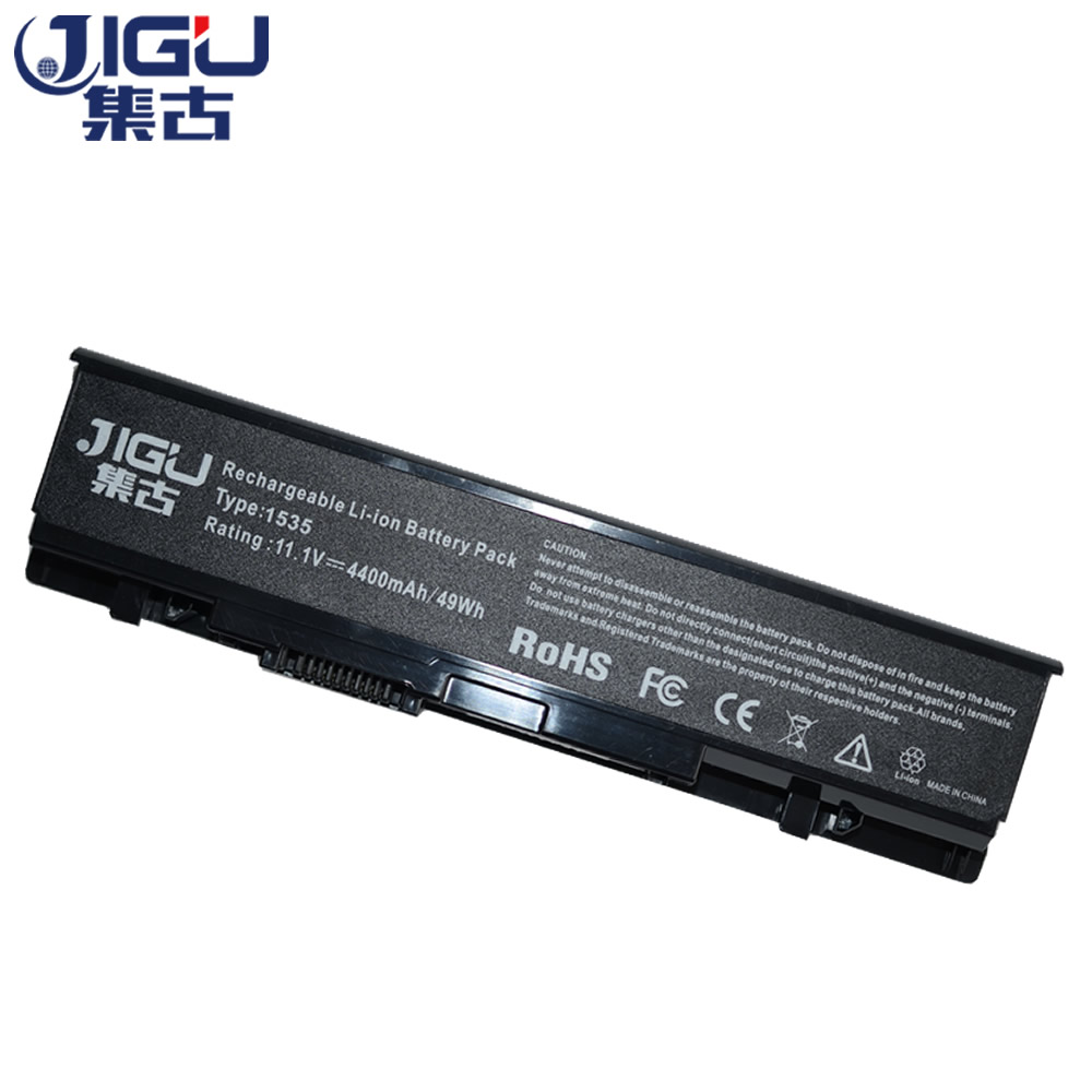 JIGU Replacement Laptop Battery For <font><b>Dell</b></font> <font><b>Studio</b></font> <font><b>1535</b></font> 1536 1537 1555 1557 1558 WU946 KM958 A2990667 312-0701 6 Cells image