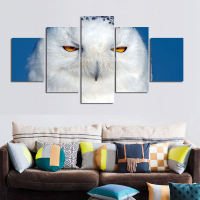 White Eagle Animal Artwork Framed Modular Picture Modern Home Wall Decor Painting Canvas Wall Picture For Home Decoration