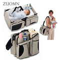 Multifunctional Portable baby bed Foldingtravelling Bed Crib Mummy Bag NewbornTravel Sleep Bag Infant TravelBed Bags YL275