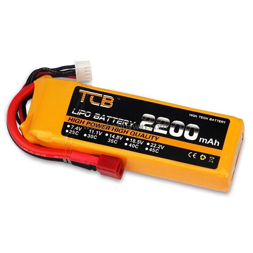 11.1 V 3 S 2200 mAh 35C LiPO batterie T plug Burst 50C RC modèle lipolymère puissance