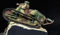 Gleagle1/35 French FT 17 Light Tank (riveted Turret Type) Umassemble Model TS 011