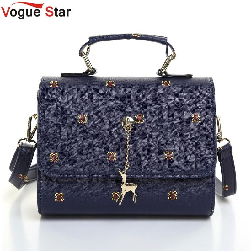 Vogue star mujeres de la marca bolso para mujer bolsos de los bolsos de cuero de