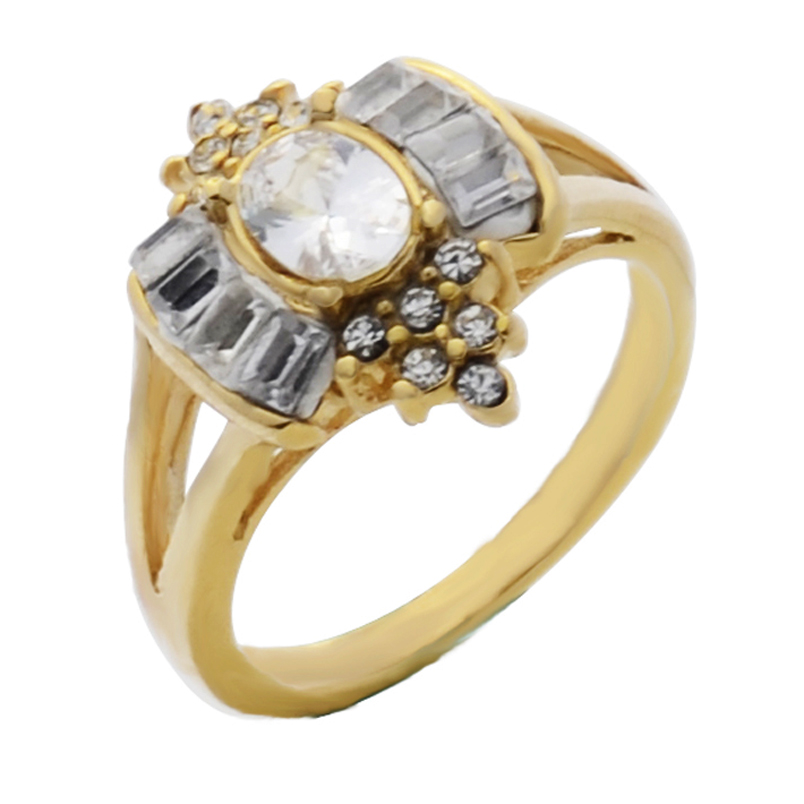 fashion african women wedding ring dress accessories for party stainless steel jewelry crystal cz rings holiday - African Wedding Rings