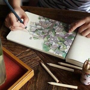 Image 3 - 1 szt. Kreatywny 288 arkuszy wrażenie ręcznie malowany notatnik moda drukowanie Graffiti Sketchbook wielki prezent biznesowy notatnik