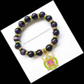 Cat  Eye Beads Bracelets & BanglesFor  Men Jewelry Omegaa Psi Phi Fraternity  Rope Chain Natural Stone    charm  bracelet