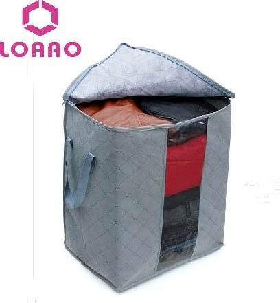 ВЫСОКОЕ КАЧЕСТВО складная коробка/Bamboo Уголь волокна домой Одежда Одеяло Хранения организатор Box