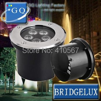 ФОТО 2pcs/lot 12W LED underground light 12W Buried lighting outdoor lamp light ground floor recessed foot lamp  DC12V 24V  AC110-265V