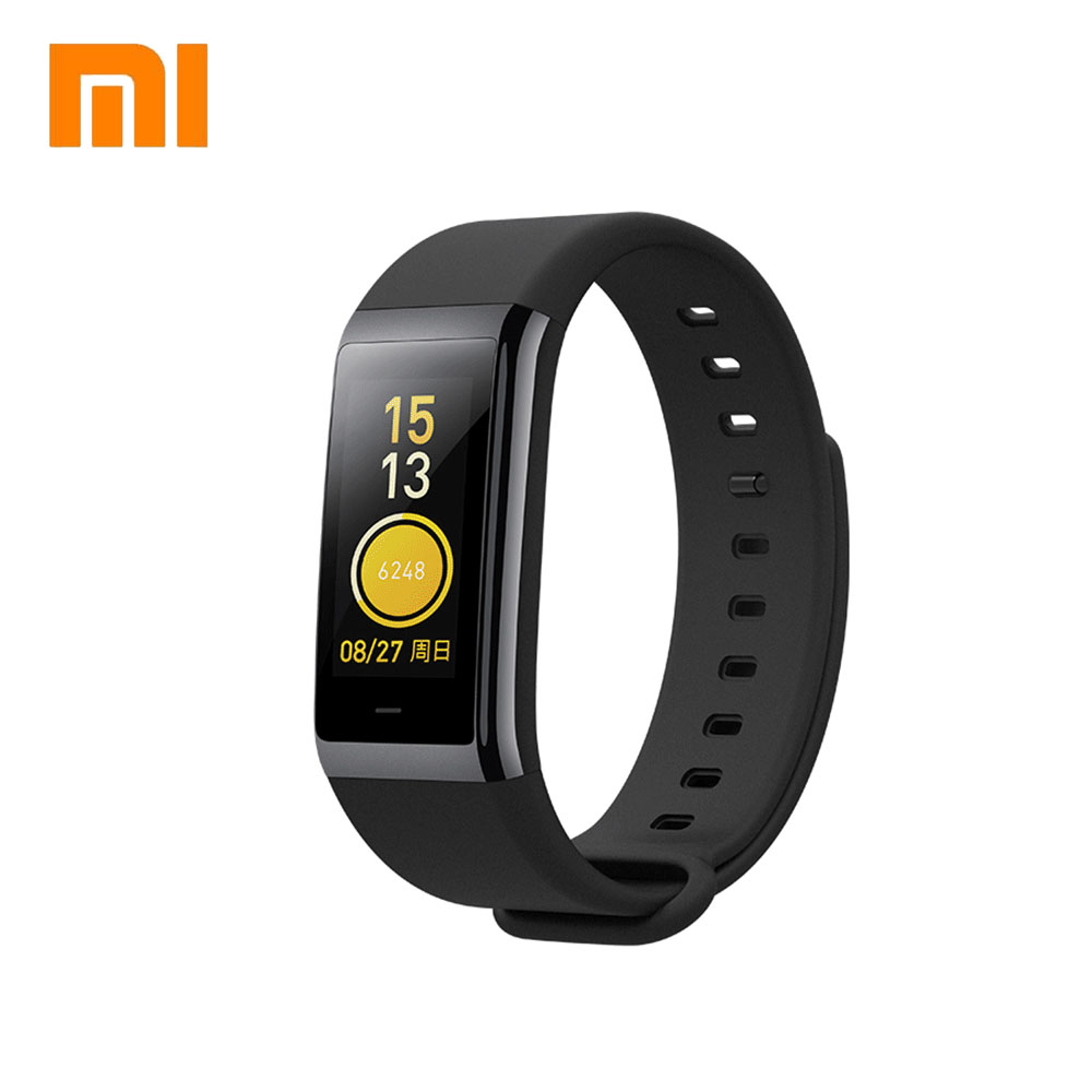 original Xiaomi Amazfit MiDong Smart Wristbands 1.23 inch IPS Screen Heart Rate Monitor Fitness Tracker Waterproof 50m Swiming