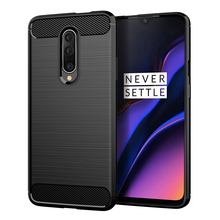 For Oneplus 7 Pro case Carbon Fiber Soft TPU Case L-S Silicone case Full Body Protection Case For Oneplus 7 Pro Case
