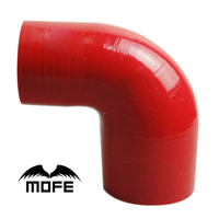 Mofe Car Styling 90 Degree Elbow Silicome Hose Pipe 4 Plys 3 5 Inch 90mm Turbo