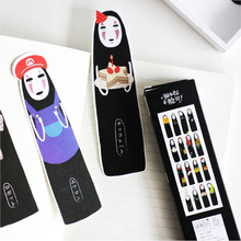 30pcs/lot Cartoon Spirited Away Paper Bookmark Stationery Bookmarks Book Holder Message Card School Supplies Free Shipping