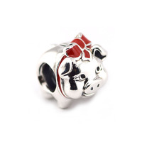 Sterling-Silber-Schmuck Passt Armband Charms DIY Perlen für Schmuck Machen Sparschwein Silber Charme Silber 925 Schmuck für Frauen