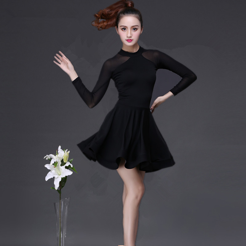 Adult Latin Dance Dress Woman 2019 New Costume Samba Latin Ballroom Costume Tango Dance Dresses Salsa Dance Clothes For Women