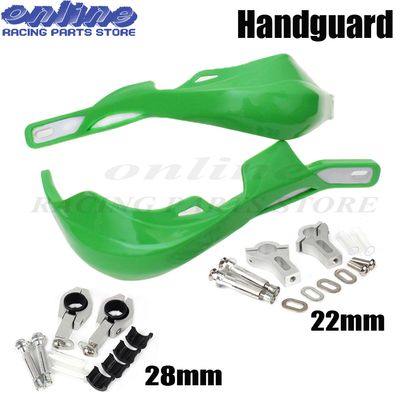 Wholesale Motorcycle Handle bar handguards Hand Guards protection 7/8 22mm Or 1-1/8 28mm for KTM SX EXC SMR CRF YZF Dirt Bike handle bar brush handguards hand guard for ktm crf yzf kxf motorcycle motocross dirt bike 7 8 22mm or 1 1 8 28mm fat bar