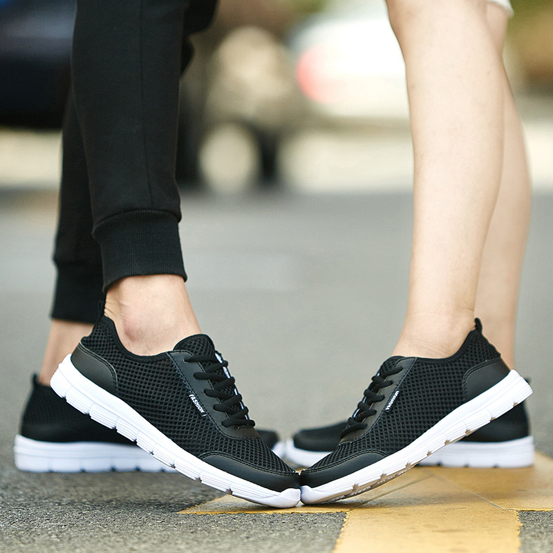 Купить с кэшбэком ZYYZYM Men Fashion Sneakers Summer Shoes Casual Shoes Men Air Mesh Lightweight Breathable Men Shoes Footwear Zapatos De Hombre