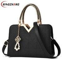 Women Bag Original Female Briefcase Handbag OL Shoulder Bag PU Messenger Bags Casual Crossbody Bags Purse